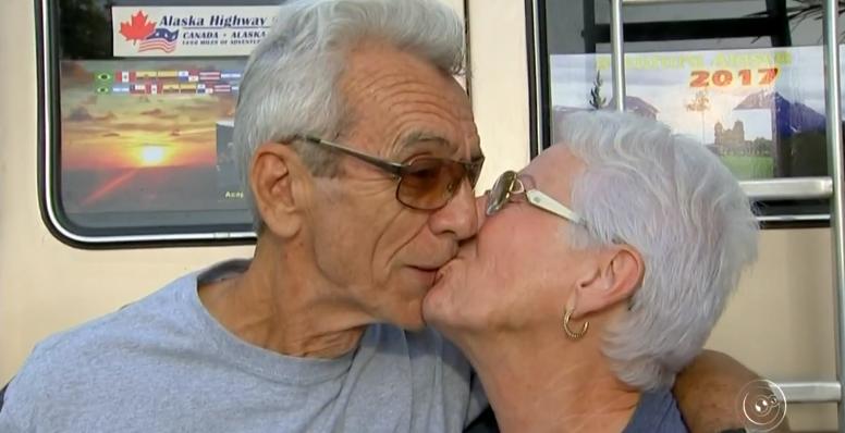 Casal de aposentados passa 326 dias viajando para o Alasca: 'Espírito de aventura'
