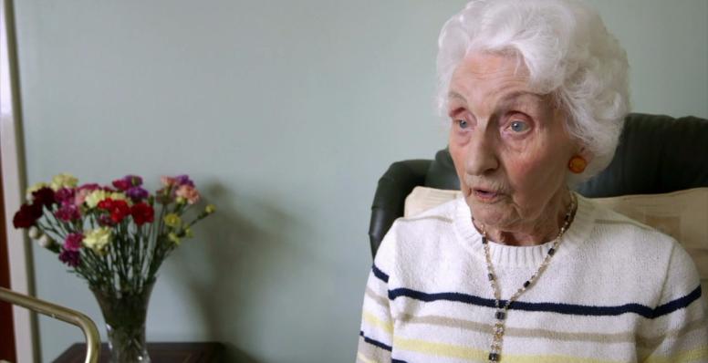 A mãe de 103 anos que voltou a cuidar do filho de 75 diagnosticado com câncer