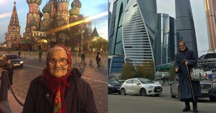 Vovó de 90 anos está viajando sozinha pelo mundo e compartilhando tudo no Instagram.