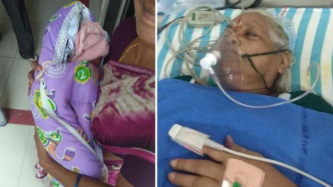 Indiana de 73 anos dá à luz gêmeas após tratamento para engravidar do marido de 82