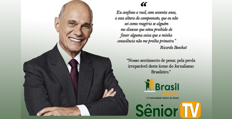 Ricardo Boechat, deixa um legado e o vazio no jornalismo brasileiro