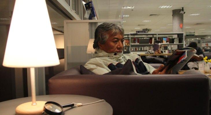 Biblioteca de São Paulo tem ambientes pensados para idosos
